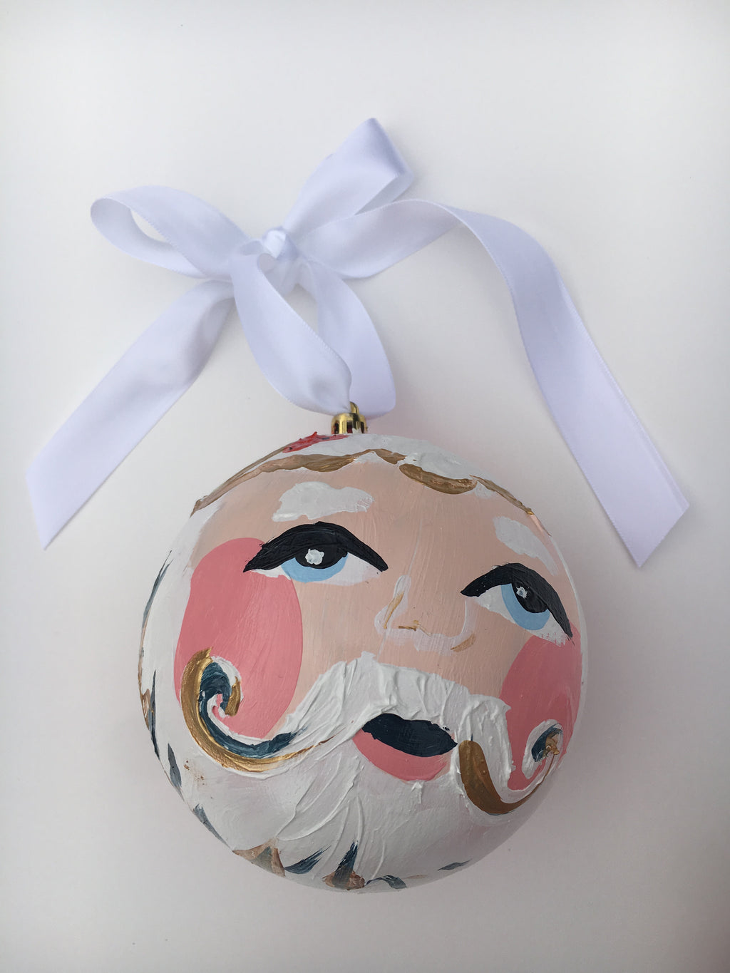 Seasonal Santa Ornament