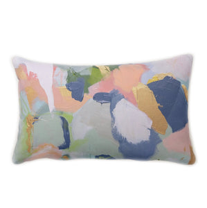 Painted Prayers Lumbar Pillow