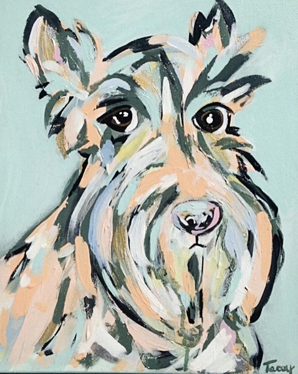 11x14 Dog Portrait Commission