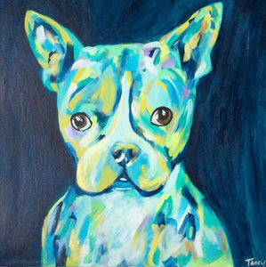 20x20 Frenchie Commission