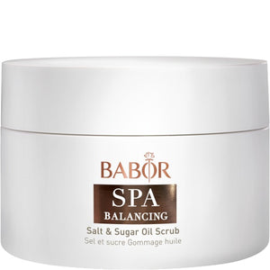 BABOR SPA - BALANCING CASHMERE WOOD Salt & Sugar Oil Scrub