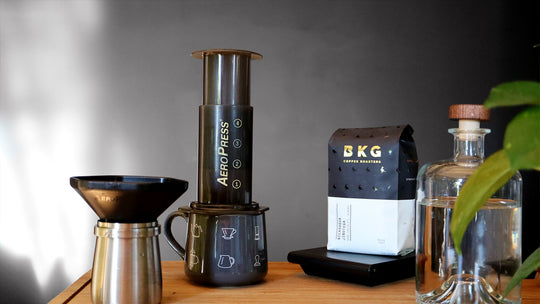 BKG Brew Guide: How To Make The Perfect Aeropress