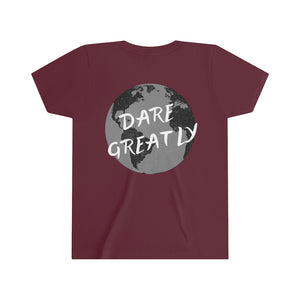 """Dare Greatly"" Kids Tee"