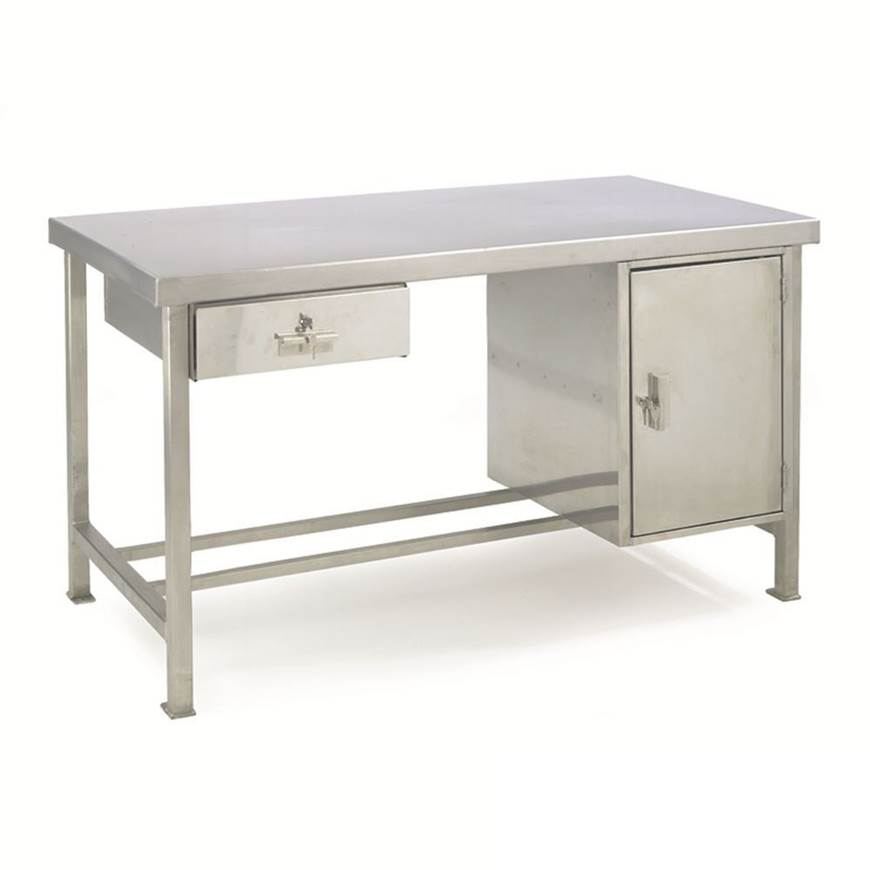 Stainless Steel Preparation Workbenches - Support Rails