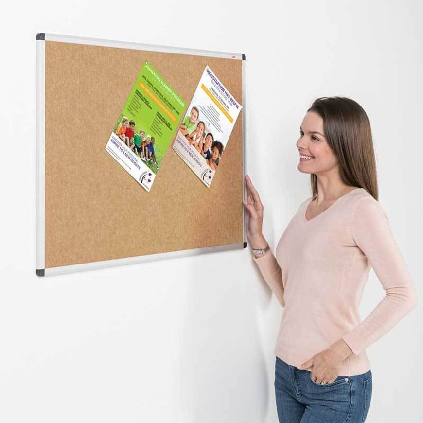 Eco Colour Fire Retardant Aluminium Framed Noticeboards