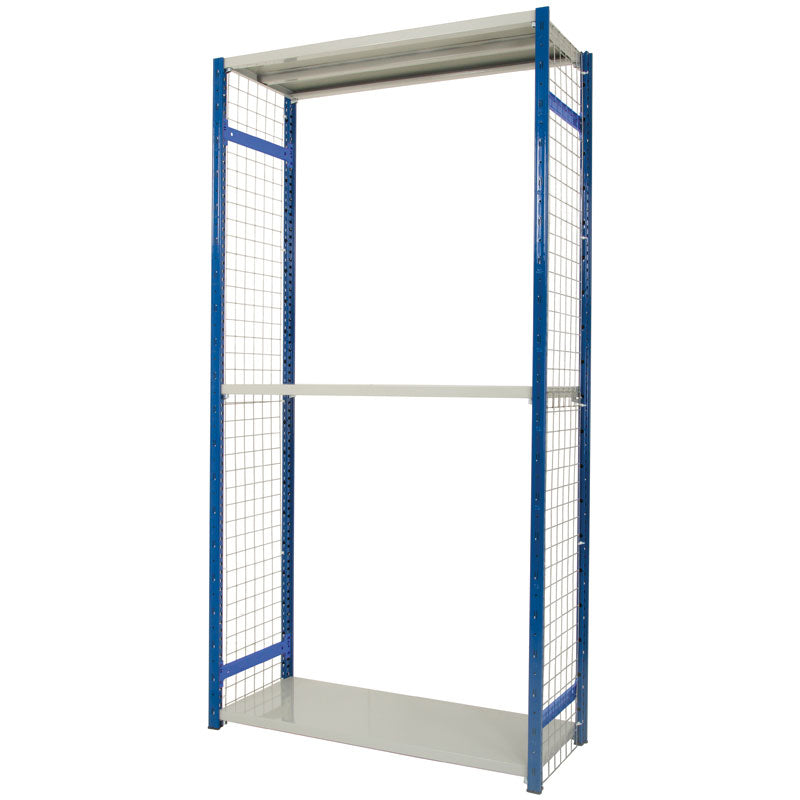 Expo 4 Boltless Shelving Cladding