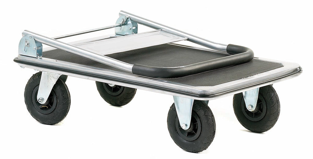 Large Wheeled Trolley, With a Foam Covered Handle