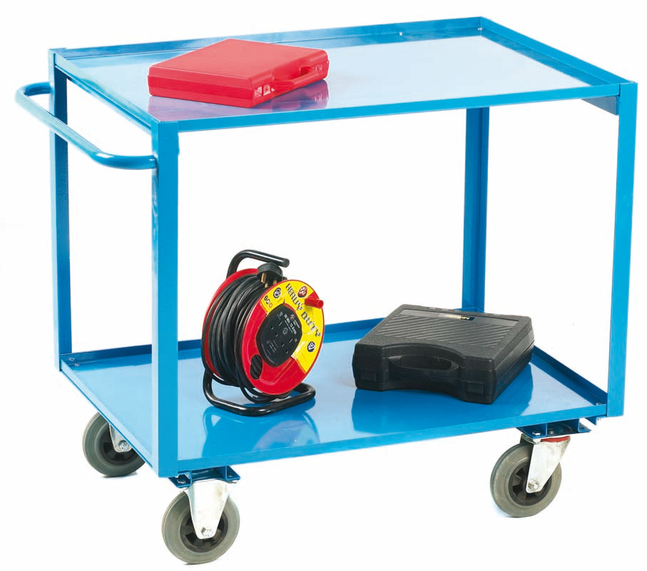 2 Tier Shelf Trolley