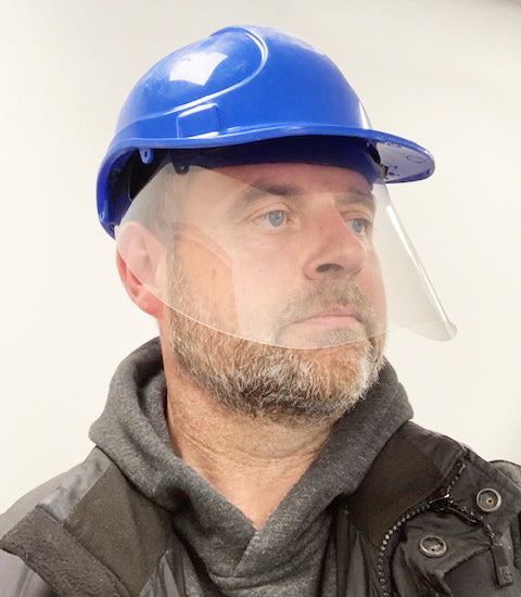 Hard Hat Face Shield