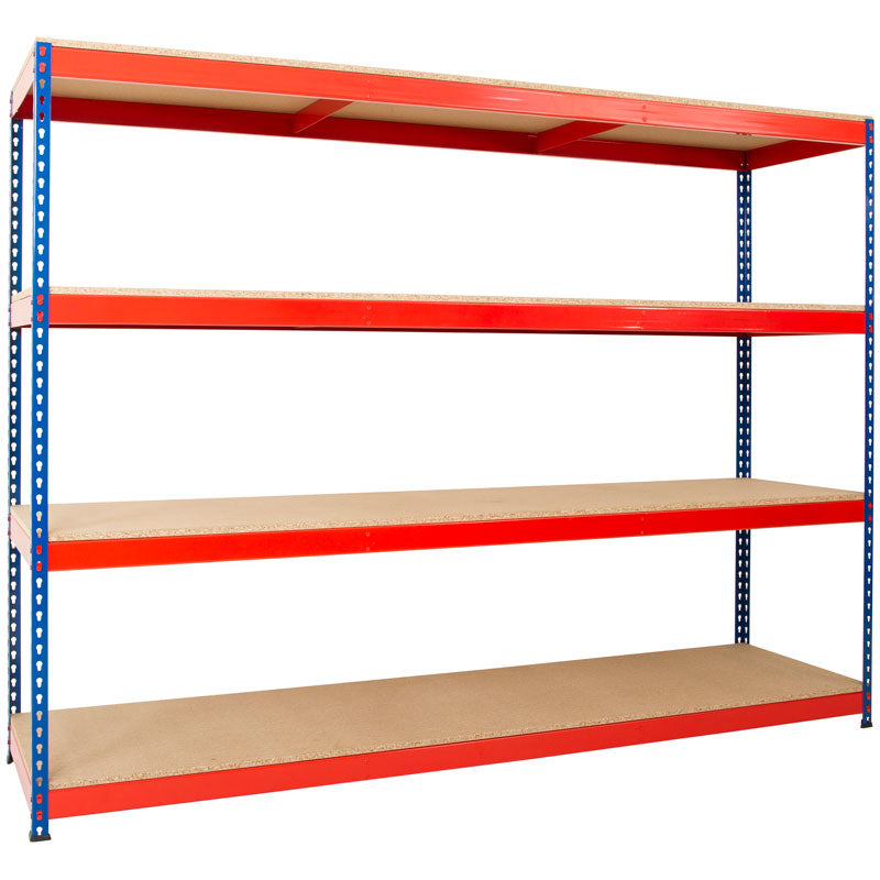 Heavy Duty Rivet Shelving