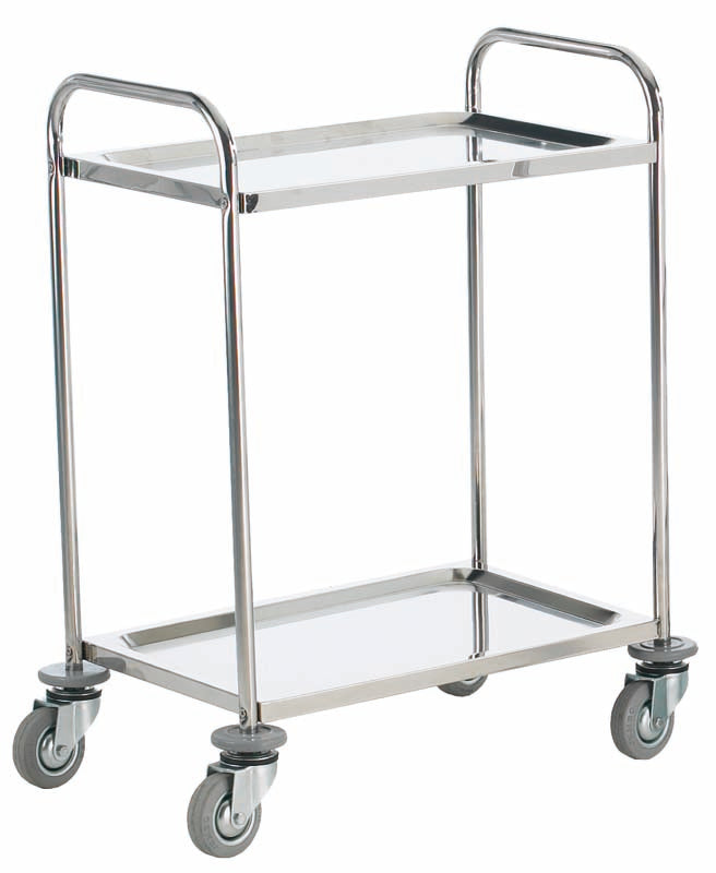 Stainless Steel, Shelf Trolley Grade 304 Stainless Steel