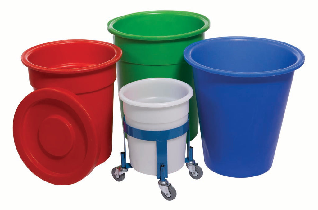 Tapered Bins, Blue Dolly to Suit