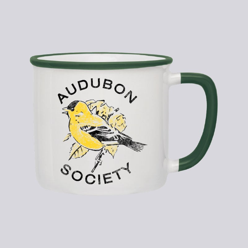 Vintage Audubon Goldfinch Coffee Mug
