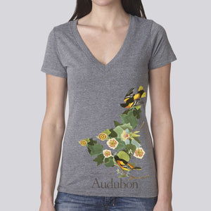 "Women's Classic ""Baltimore Oriole"" V-Neck T-Shirt"
