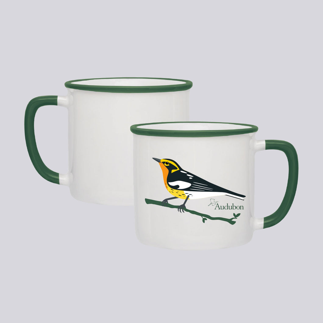 14oz Audubon Blackburnian Warbler Coffee Mug