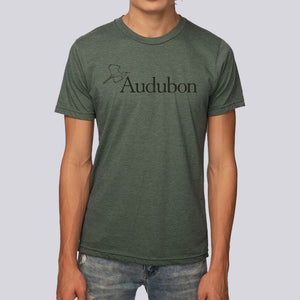 Unisex Eco-Friendly Audubon Logo T-Shirt