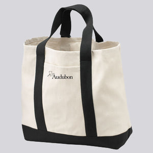 Classic Two-Toned Audubon Tote Bag