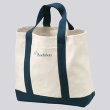 Load image into Gallery viewer, Classic Two-Toned Audubon Tote Bag