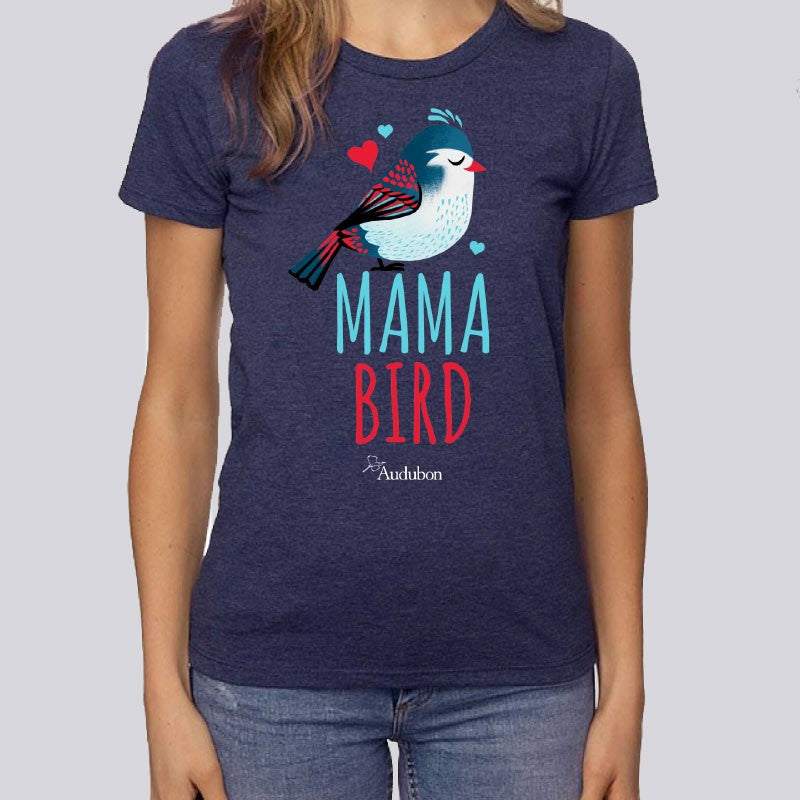 Women's Mama Bird T-Shirt