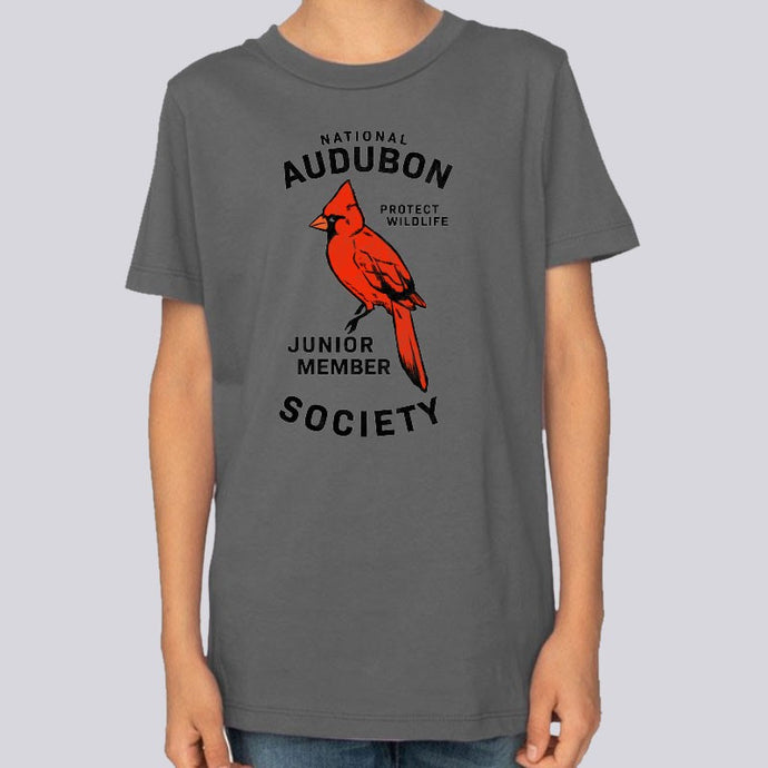 Youth Audubon Junior Member Cardinal T-Shirt