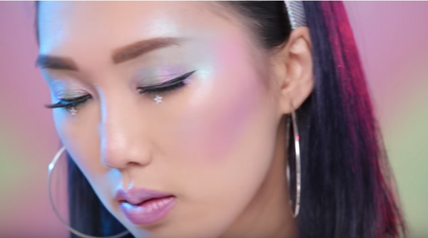 Unicorn makeup tutorial iamkareno | Kiki and Josie