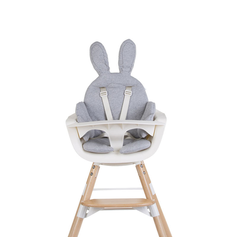 Seat Cushion Rabbit Jersey Grey