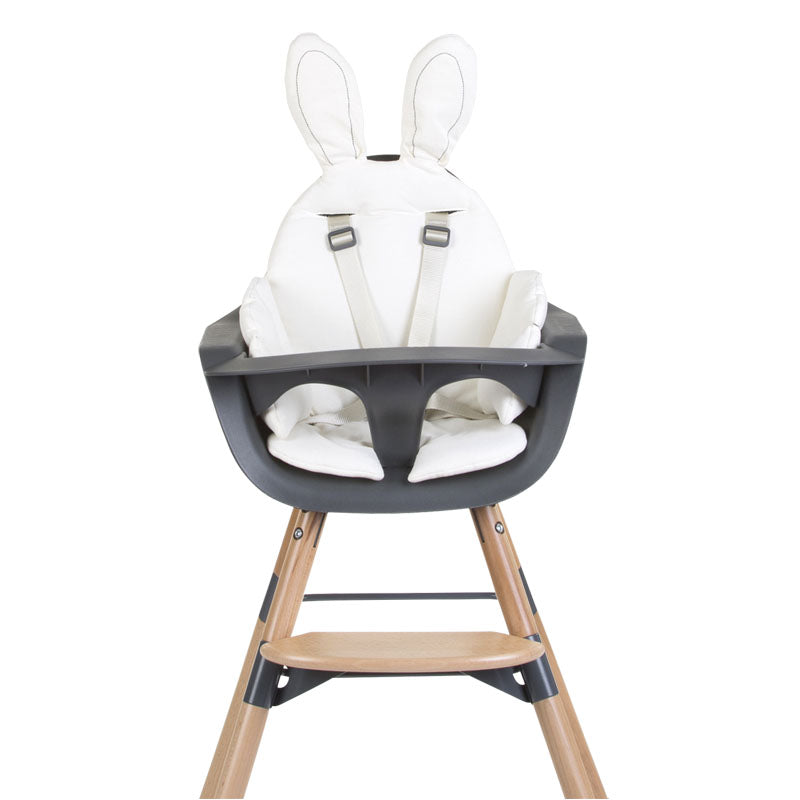 Seat Cushion Rabbit Jersey White