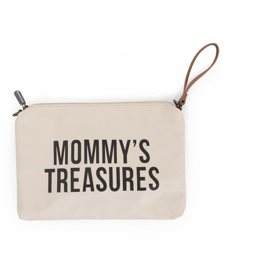 Mommy Clutch Off White