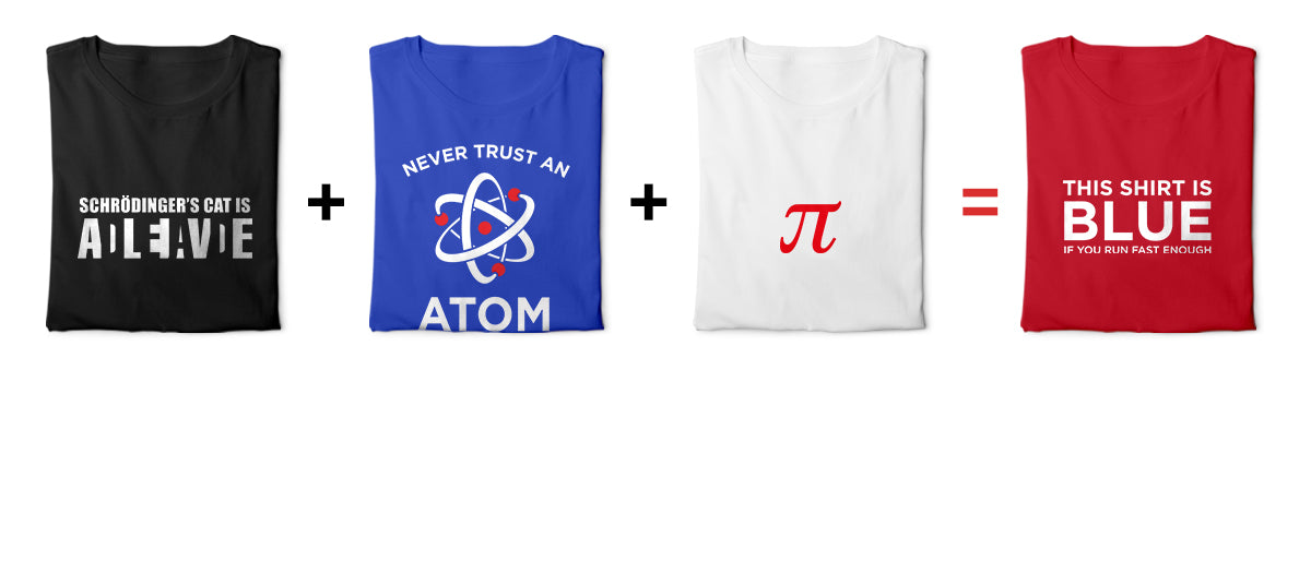 Buy Any 3 Science Tees Get One Free!