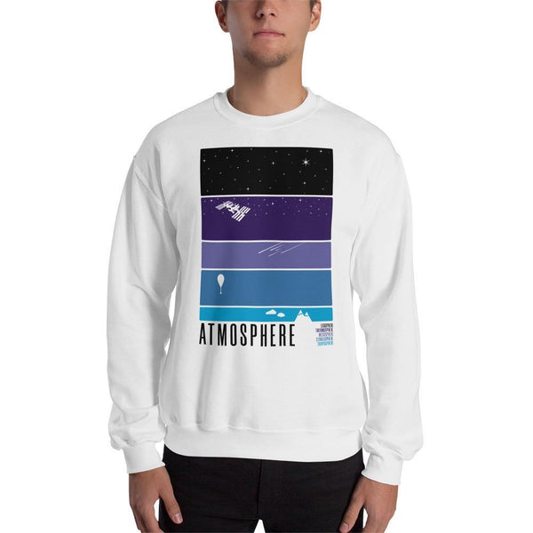 Atmosphere Layers Sweatshirt SciDye White / S