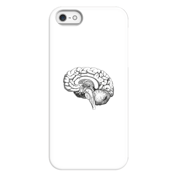 Brain Anatomy Biology Illustration Phone Case SciDye iPhone 5/5s/SE