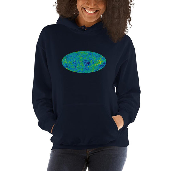 Cosmic Microwave Background Hoodie SciDye Navy / S