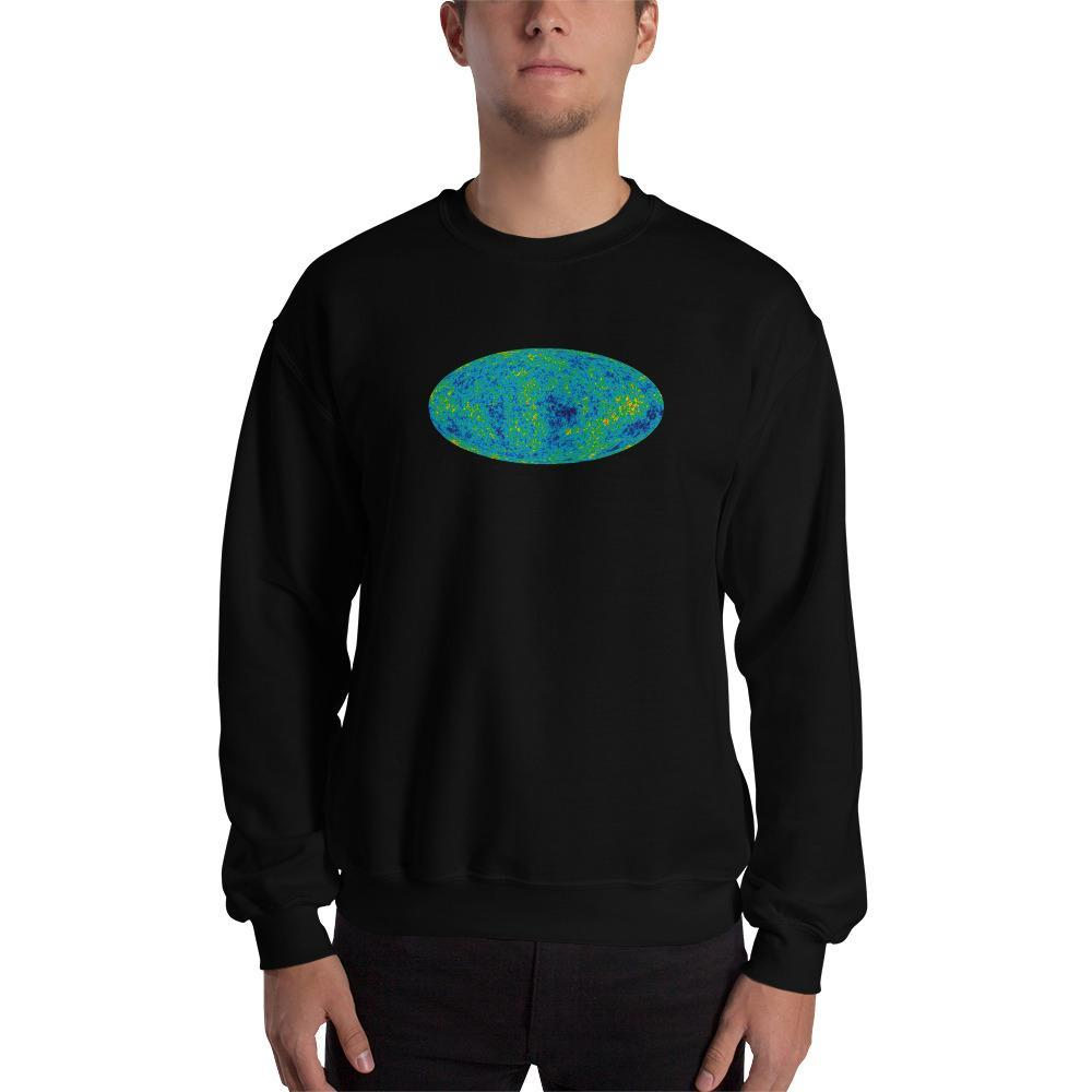 Cosmic Microwave Background  Sweatshirt SciDye Black / S
