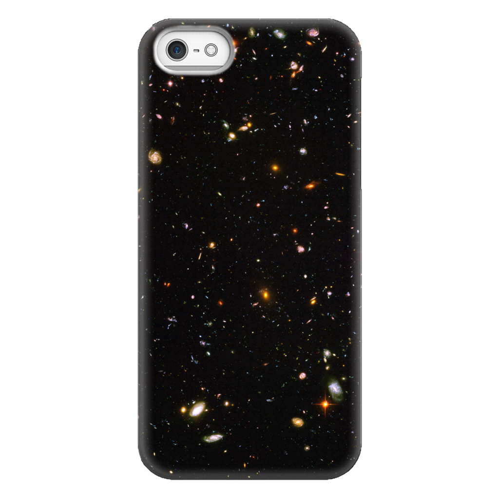 Hubble Deep Field Astronomy Phone Case SciDye iPhone 5/5s/SE