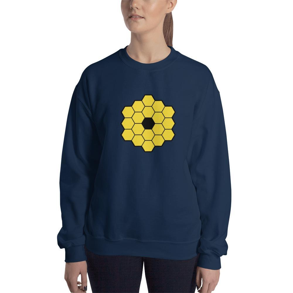 James Webb Space Telescope Sweatshirt SciDye Navy / S