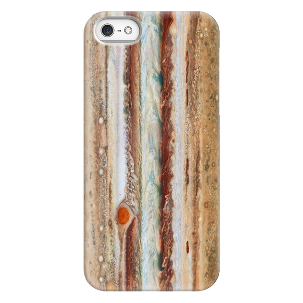 Jupiter's Great Red Spot Phone Case SciDye iPhone 5/5s/SE