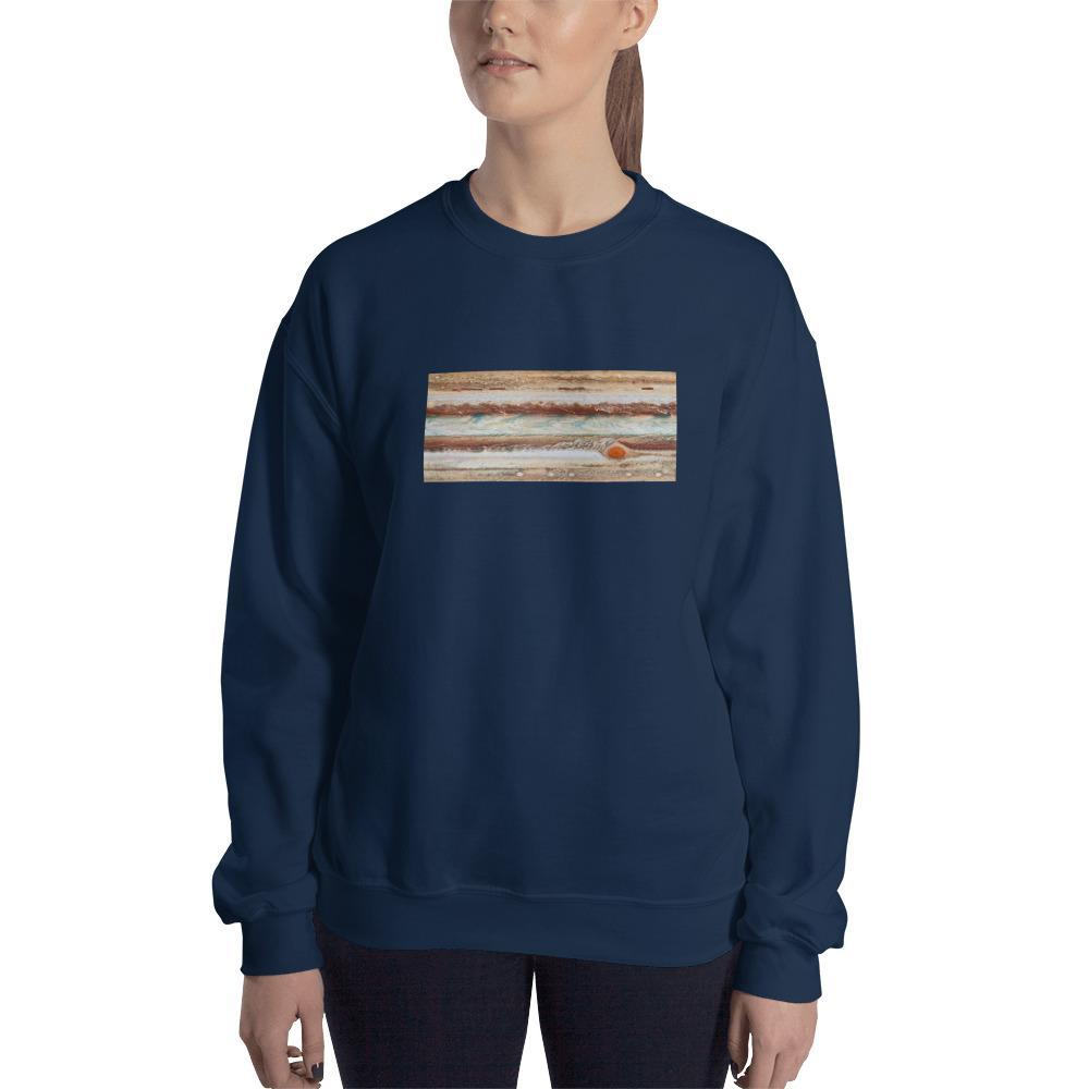 Jupiter's Great Red Spot Sweatshirt SciDye Navy / S