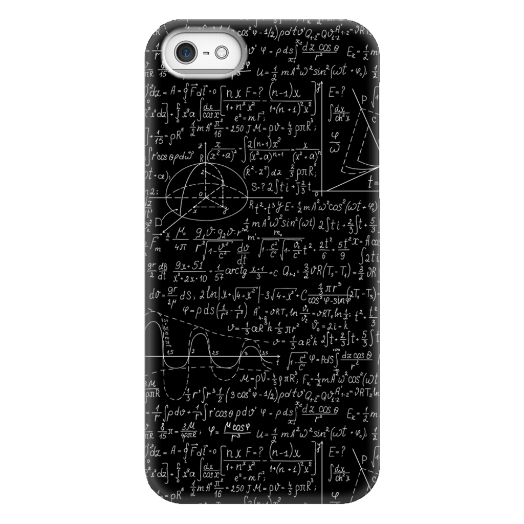 Mathematics Formulas Phone Case SciDye iPhone 5/5s/SE