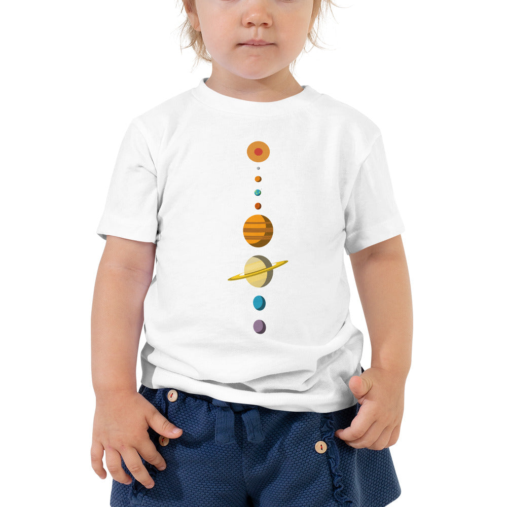 Solar System Toddlers T-Shirt