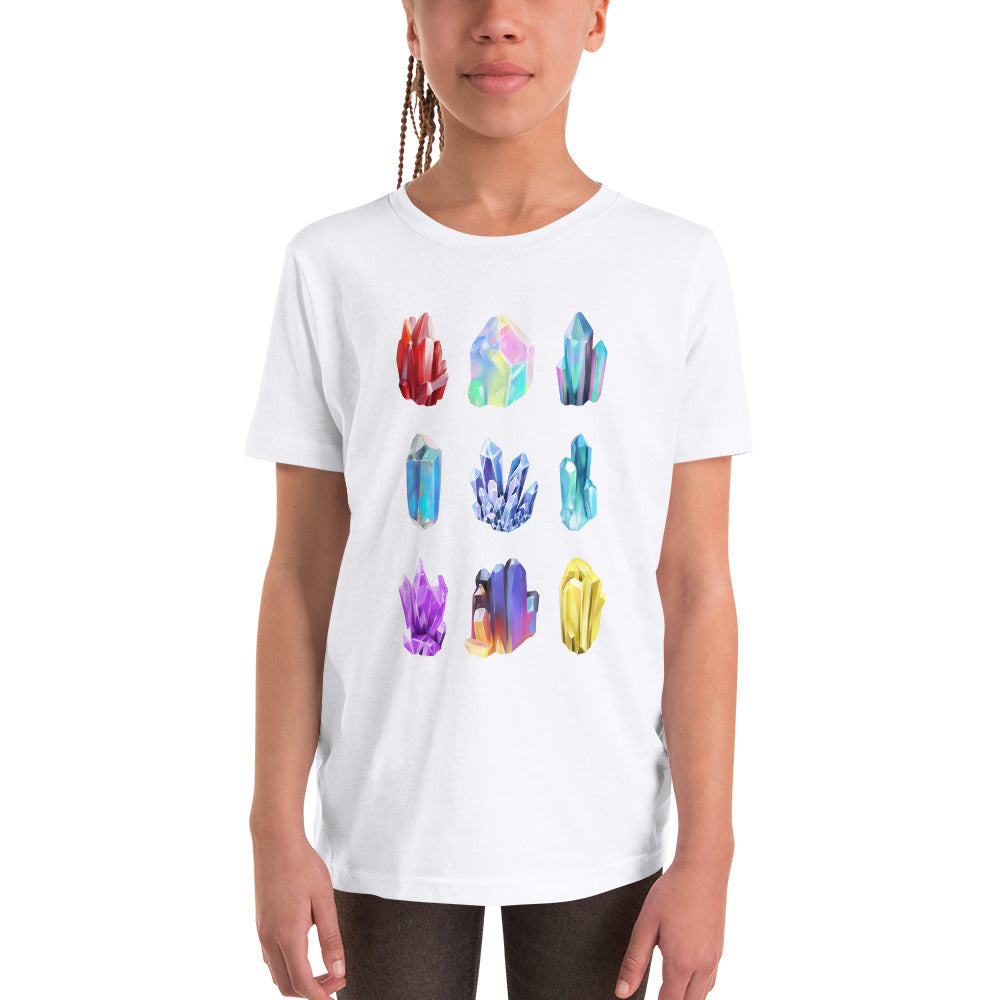 Crystal Illustrations Kids Geology T-Shirt