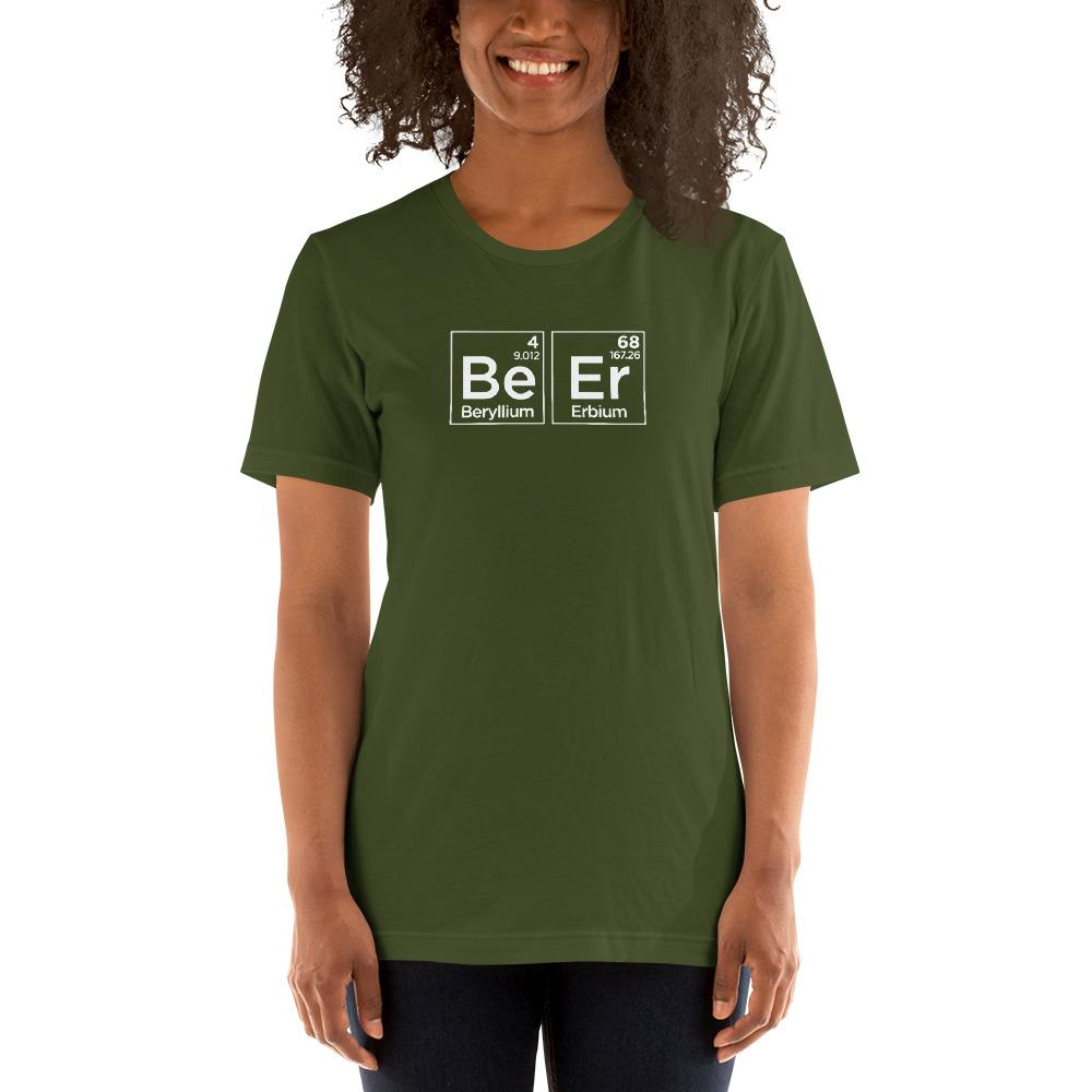 Beer Chemistry Periodic Table T-Shirt