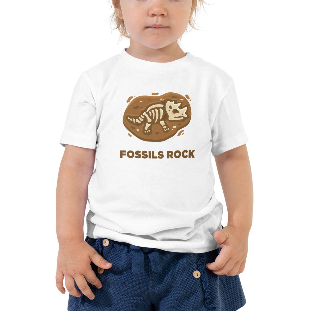 Fossils Rock Toddlers T-Shirt