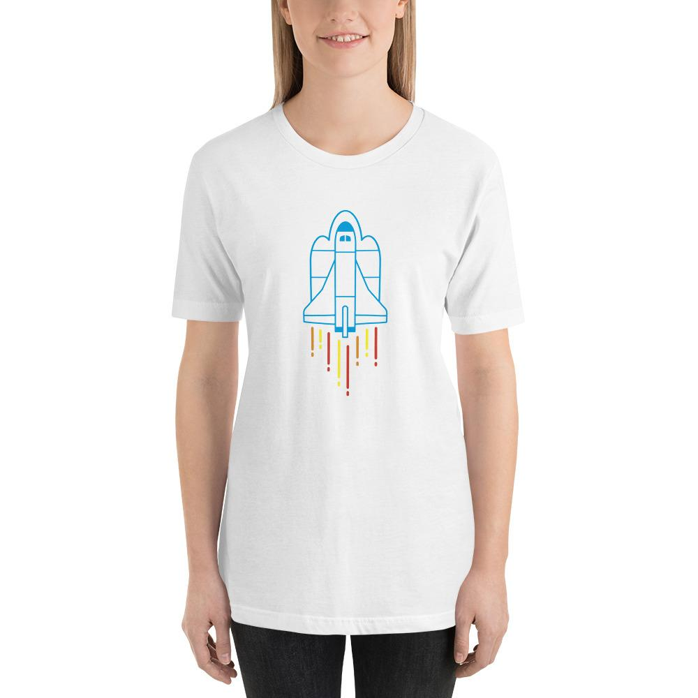 Space Shuttle Rocket Launch T-Shirt