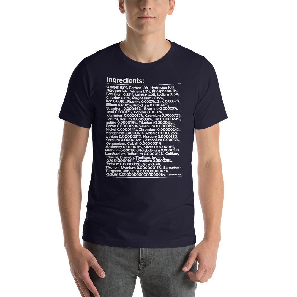 Human Ingredients Chemistry T-Shirt
