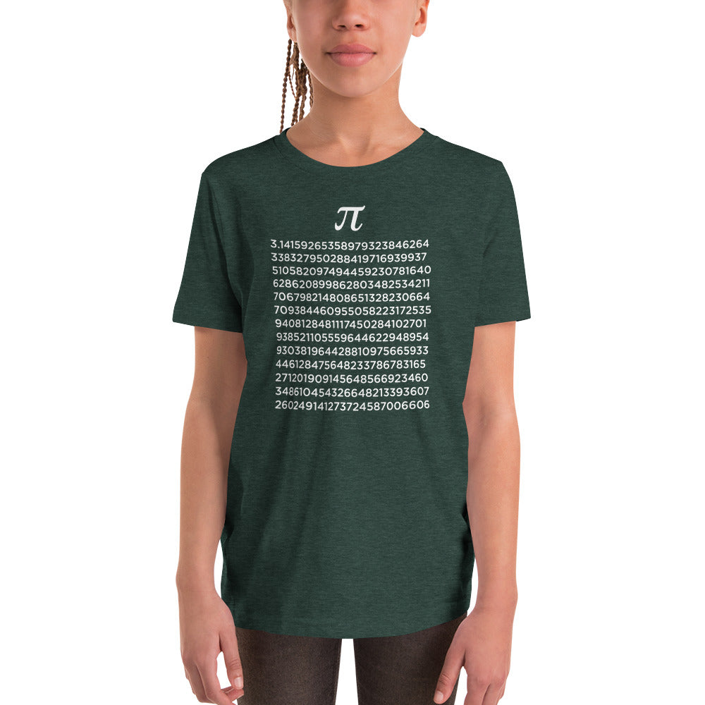Pie to 3.14 Digits Kids T-Shirt