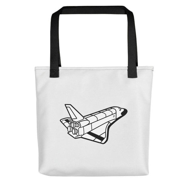 NASA Space Shuttle Tote bag SciDye Black