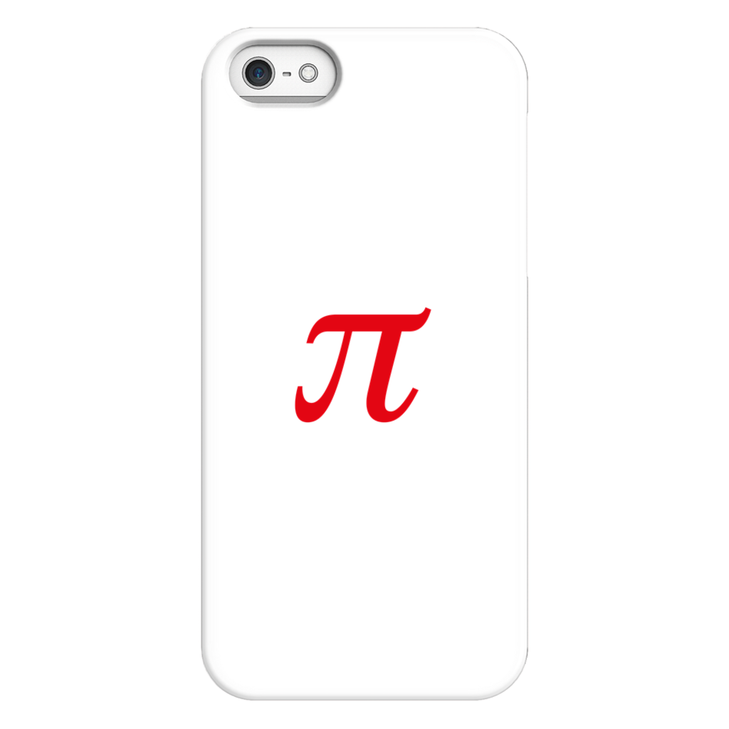 Pie Math Symbol Phone Case SciDye iPhone 5/5s/SE