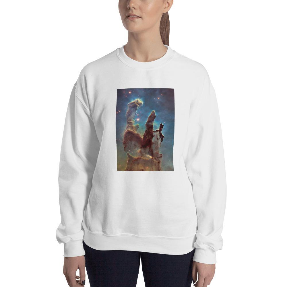 Pillars of Creation Cosmic Sweatshirt SciDye White / S