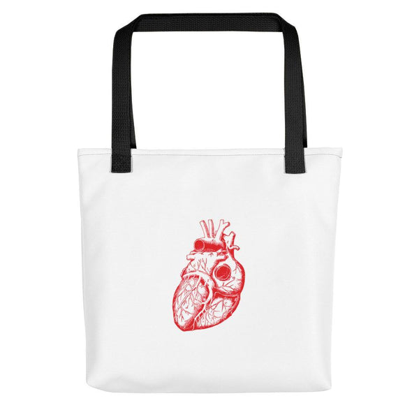 SciDye Anatomical Heart Tote bag Default Title