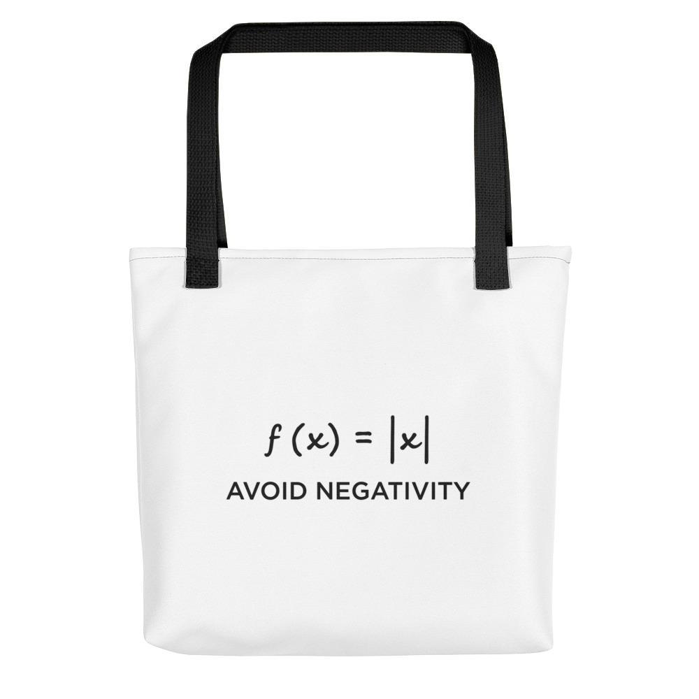 SciDye Avoid Negativity Maths Tote bag Default Title